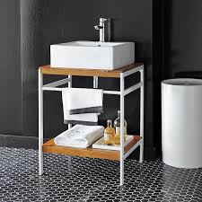 Bathroom Sink Console by Bath Console Modern Bathroom Vanities And Sink Consoles By