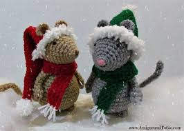 Amigurumi Christmas Ornaments - 25 unique crochet christmas ornaments ideas on pinterest
