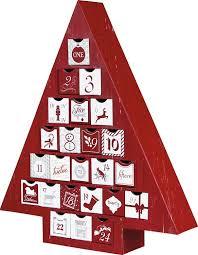 rigid set up box advent calendar tree box qty 6