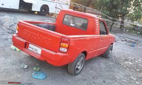suzuki pickup 2 door maruti 800 pickup team bhp