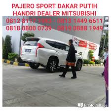 mitsubishi expander putih pajero sport dakar putih dealer mitsubishi 081281171983