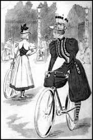 rational dress reform victorian bloomers and cycling costumes