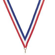 white blue ribbon blue ribbon rb204 classic achievements inc
