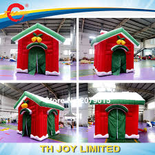 Christmas Home Design Games 2017 New Design Christmas Decoration Inflatable Santa Claus House