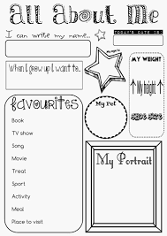 79 best all about me worksheets images on pinterest