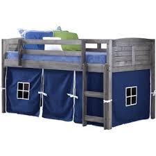 Half Bunk Bed Half Loft Bed Wayfair