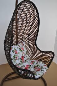 Patio Egg Chair Rattan Hanging Chair Garden Seat Patio Egg Swing Comfortable