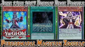 yu gi oh best performapal magician zoodiac deck profile june