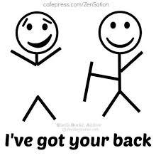 I Ve Got Your Back Meme - cafepresscomzensation sheila burke author osheidamburke com i ve