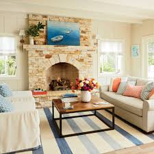 Beachy Living Rooms by California Beach Bungalow Makeover Coastal Living