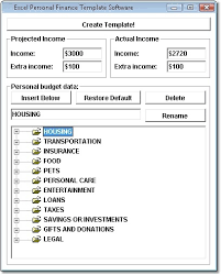 excel personal finance template software download for free