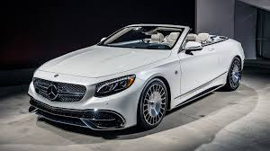 2017 mercedes maybach s650 cabriolet unveiling photo gallery
