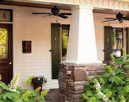 exterior craftsman style house details