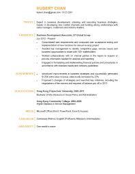 Web Content Manager Resume Business Development Associate Cv Ctgoodjobs Powered By Career Times