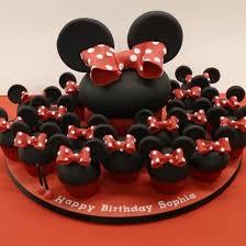 Best 25 Minnie Mouse Cupcake Cake Ideas On Pinterest Mini Mouse