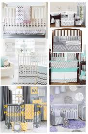 best grey chevron baby bedding grey and pink white purple