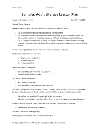 sample common core lesson plan common core weekly lesson plan