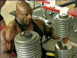Ronnie Coleman Bench by The Heaviest And Biggest Dumbbells Ever Seen