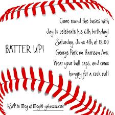 baseball birthday invitations gangcraft net