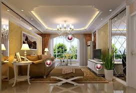 Living Room Roof Design Warm Living Room With Intricate Ceiling - Ceiling design living room