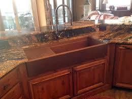 Copper Kitchen Sink by Kitchen Cute Kitchen Decoration Using Double Bowl Undermount