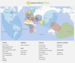 America Latina Map by Latina Magazine Staff Reveal Their Surprising Ancestrydna Test