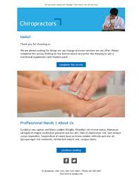 8 free and professional newsletter templates for chiropractors