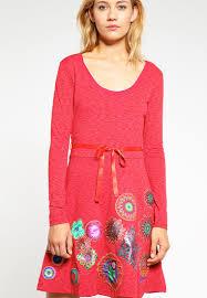 desigual designer desigual dresses sale desigual plinas jersey dress fresa