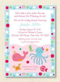 the sea baby shower invitations the sea baby shower invitation by littledarlingexp