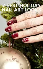 7 holiday nail art ideas for 2016 diy christmas nail art tutorials