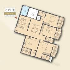 3 bhk apartments premier habitat