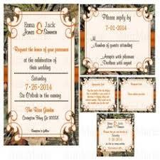 Camo Wedding Invitations Mossy Oak Wedding Invitation Hunting Theme By Kisikreations