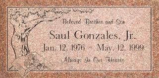 flat headstones this granite headstone design features corners granite