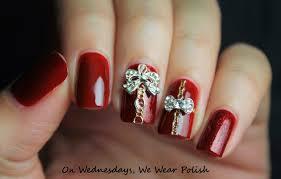 on wednesdays we wear polish u0027tis the season for holiday nail art