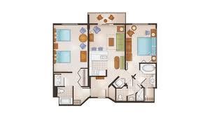 disney saratoga springs treehouse villas floor plan rooms points saratoga springs resort spring resort and resort spa