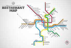 Washington Dc Map Usa by Washington Dc Restaurant Map Maps Of Usa