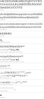 font bureau fonts font bureau fonts poynter oldstyle text character set combines