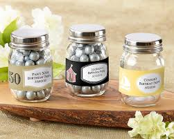 personalized mini jar birthday party favors by kate aspen