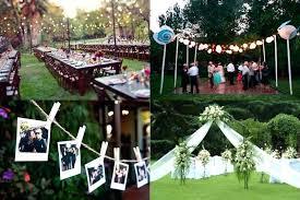 Backyard Wedding Decoration Ideas Cheap Backyard Ideas Cheap Outdoor Wedding Decorations Bold