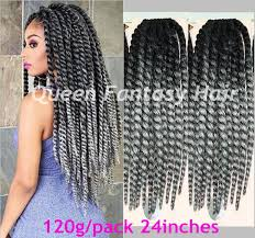 ombre senegalese twists braiding hair hot selling 24in long havana mambo twist crochet braids synthetic