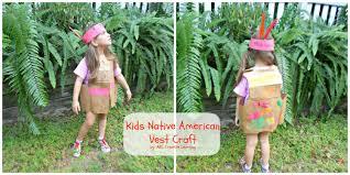 thanksgiving vest kids american vest craft it forwardmom it forward