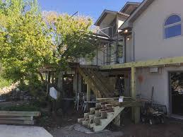 project in progress backyard oasis renovation creating flow