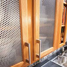 low cabinet with doors metal kitchen cabinet door inserts with low angled handle and