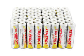 rechargeable aa batteries for solar lights 24 pcs tenergy aa nicd rechargeable battery solar lights lawn l