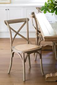 French Provincial Dining Room Chairs Set Of 2 Oak Cross Back Chairs Wood Crosses Woods And Decorating