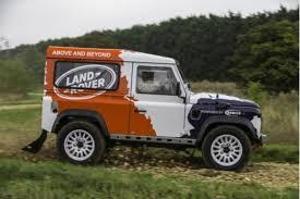 land rover defender svx land rover defender rally series freshness mag
