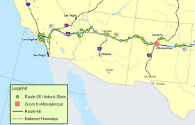 us route 66 arizona map new mexico arizona and california map route a discover our
