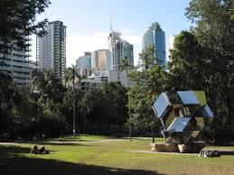 Botanic Gardens Brisbane City Brisbane City Taken From The City Botanical Gardens By The Morning
