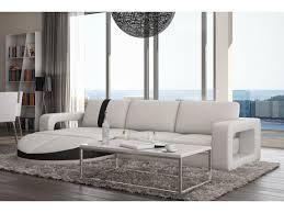 canapé d angle blanc et noir canapé d angle design blanc noir galliano