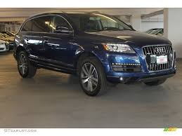 Audi Q7 Night Black - 2015 scuba blue metallic audi q7 3 0 premium plus quattro